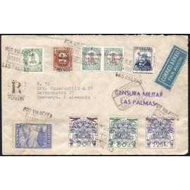 1937 ED. ELP Santa Cruz de Tenerife 16, 19, 36 [x2] us