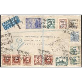 1937 ED. ELP Santa Cruz de Tenerife 16, 21 [x2], 39 [x2] us