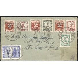 1937 ED. ELP Santa Cruz de Tenerife 20, 39 [x2] us