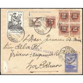 1937 ED. ELP Santa Cruz de Tenerife 20hdh, 39 [x5] us
