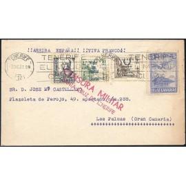 1937 ED. ELP Santa Cruz de Tenerife 21, 26 us