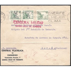 1937 ED. ELP Santa Cruz de Tenerife 27hphi us