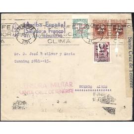 1937 ED. ELP Santa Cruz de Tenerife 30, 36, 39+39a us