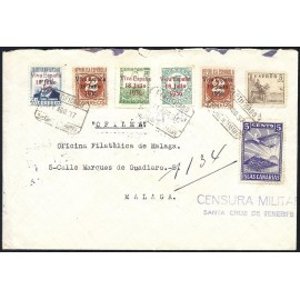 1937 ED. ELP Santa Cruz de Tenerife 36, 39, 39a, 41, 43 us