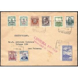 1937 ED. ELP Santa Cruz de Tenerife 36/37, 39/43, 41A us