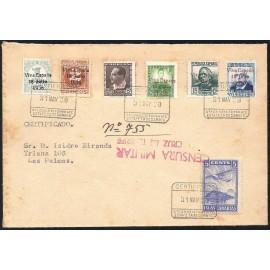 1937 ED. ELP Santa Cruz de Tenerife 37, 39/41, 41A, 43 us