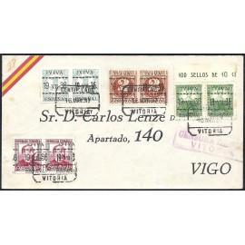 1937 ED. ELP Vitoria 01 [x02], 05 [x02], 07 [x02], 10 [x02] us (2)