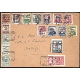 1937 ED. ELP Málaga 01/03, 06, 08/09, 12, 14/15, 17/24 us