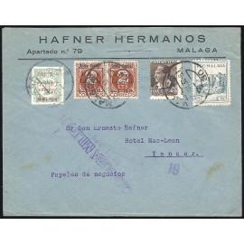 1937 ED. ELP Málaga 02, 08 [x2], 09 us