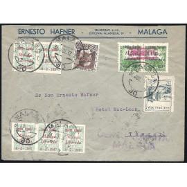 1937 ED. ELP Málaga 02 [x5], 08 [x10], 09, 48 us