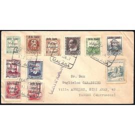 1937 ED. ELP Málaga 03, 06, 08/09, 12, 14, 17/19, 21 us