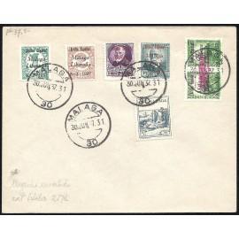 1937 ED. ELP Málaga 03, 07, 13, 15, 48 us