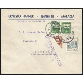 1937 ED. ELP Málaga 08 [x0.5], 12 [x2] us