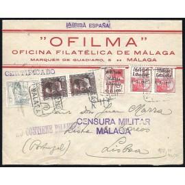 1937 ED. ELP Málaga 09hh [x2], 19 [x2], 19hi us