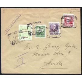 1936 ED. ELP Sevilla 21, 23hdx, 25hi us