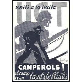 Tarjeta Postal - Comissariat de Propaganda de la Generalitat de Catalunya (01)