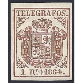 1864 ED. Telégrafos 1 *
