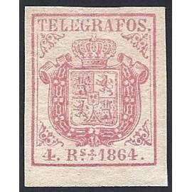 1864 ED. Telégrafos 2 *