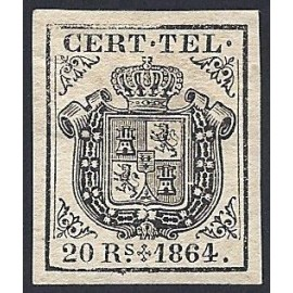 1864 ED. Telégrafos 4 * (3)