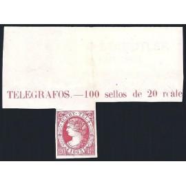 1865 ED. Telégrafos 08 *