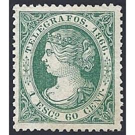 1866 ED. Telégrafos 15 *