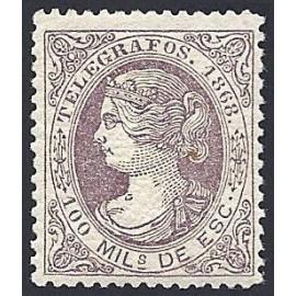 1868 ED. Telégrafos 21 * (3)