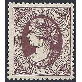1868 ED. Telégrafos 23 * (3)