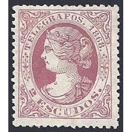 1868 ED. Telégrafos 25 * (2)