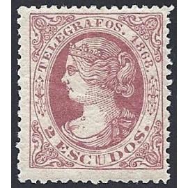 1868 ED. Telégrafos 25 * (3)