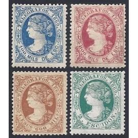 1869 ED. Telégrafos 26/29 * (2)