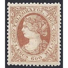 1869 ED. Telégrafos 28 *