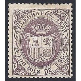 1869 ED. Telégrafos 30 * (4)