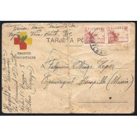 Tarjeta Postal - Frente y Hospitales