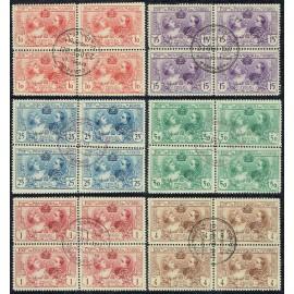 1907 ED. SR 1/6 us [x4]