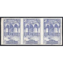 1937 ED. BHT 10s ** [x3]