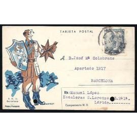 Tarjeta Postal - S.E.U.