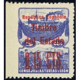 1937 ED. Asturias NE 2smi **