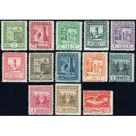 1929 ED. Andorra 15/27 **