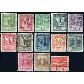 1929 ED. Andorra 15/27 us