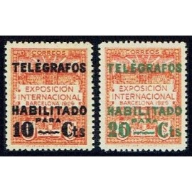 1929 ED. Barcelona - Telégrafos 01d/02d **