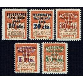 1934 ED. Barcelona - Telégrafos 04/08 *