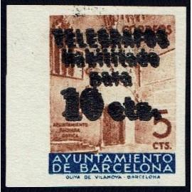 1936 ED. Barcelona - Telégrafos 09hhs **