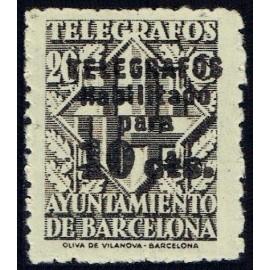 1942-1945 ED. Barcelona - Telégrafos 17A **