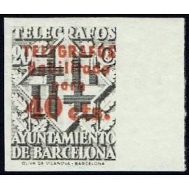 1942-1945 ED. Barcelona - Telégrafos 17Dhccs **