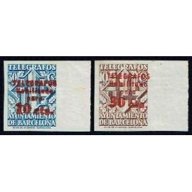 1942-1945 ED. Barcelona - Telégrafos 18hccs/20hccs **