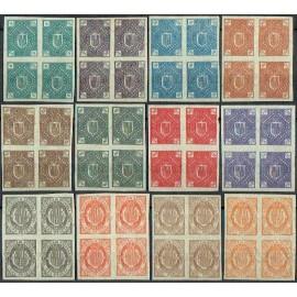1875 ED. Andorra NE 1s/12s (*) [x4]