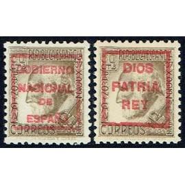 1936 ED. ELP Mondragón 08A, 22A **