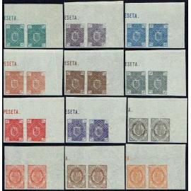 1875 ED. Andorra NE 1s/12s (*) [x2]
