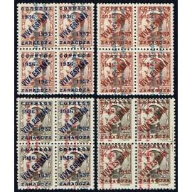 1937 ED. ELP Zaragoza NE01/02, NE05/06 ** [x4]