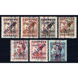 1937 ED. ELP Zaragoza NE01/02, NE05/06, NE09A, NE10A, NE12B **